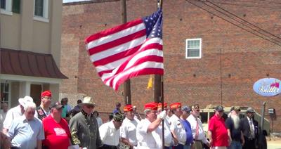 Downtown Memorial Day tribute pays homage to fallen heroes