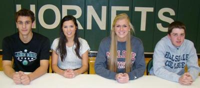 4 HHS Student-Athletes Sign Letter of Intent