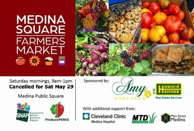 Medina County News Medina Square Farmers Market Announcement