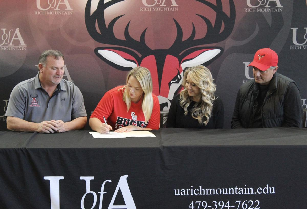 Powell becomes first Bucks Softball signee