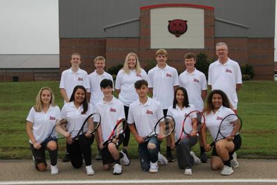 Mena Tennis takes on Arkadelphia