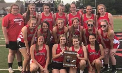 Mena Girls Track Earns District Runner-Up