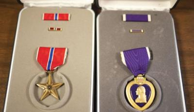 World War II medals awarded posthumously of Cove native to his sister