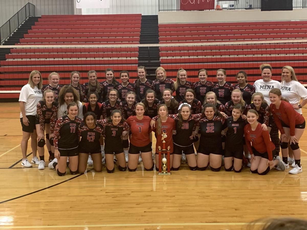 Mena Jr. Volleyball wins Ladycat Classic