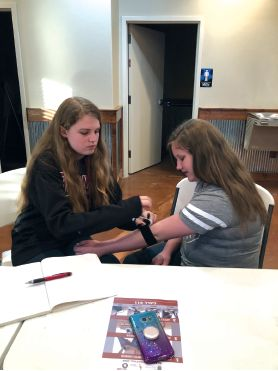4-Hers get certified in Stop the Bleed