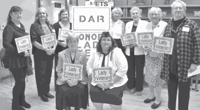 DAR honors women veterans at Heritage Tea