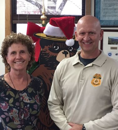 Cole, Liles awarded for exemplary work