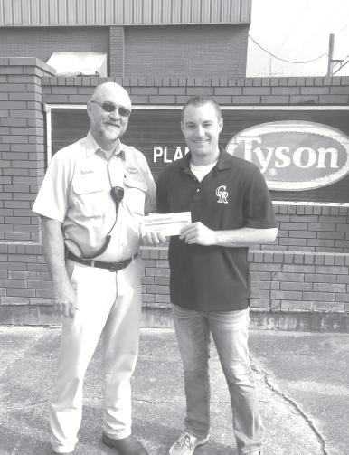 Cossatot River Softball team receives Tyson donation