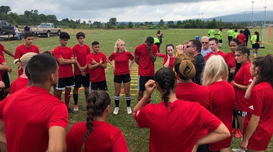Bucks Soccer begins training