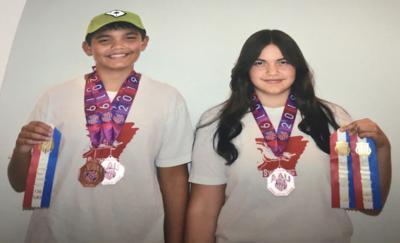 Mena Barracudas Medal at 2019 AAU Junior Olympics