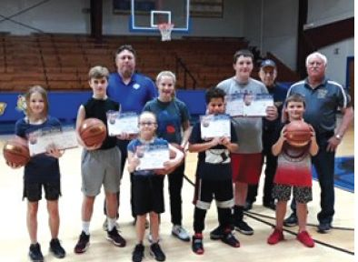 Results from Knights of Columbus Free Throw Competition