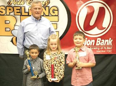 Polk County's Top  Spellers Compete