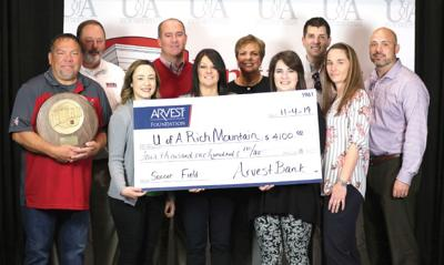 ARVEST Foundation Donates New Bucks Soccer Scoreboard