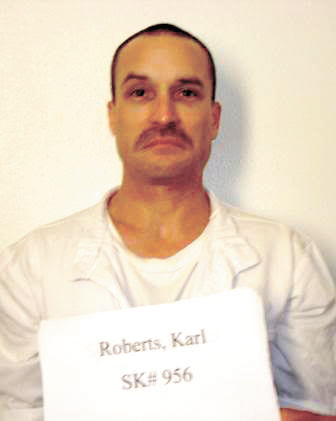 Convicted rapist and murderer Karl D. Roberts
