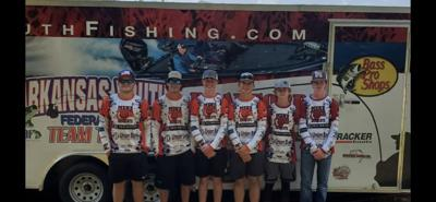 Basscats compete on Millwood Lake