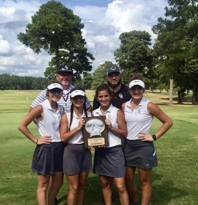 Cossatot Golf Wins District