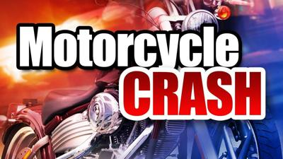 Driver injured in one-vehicle motorcycle accident