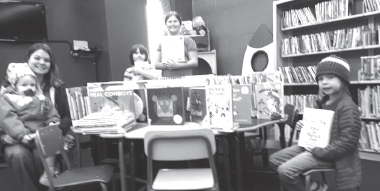 Library receives new books for children