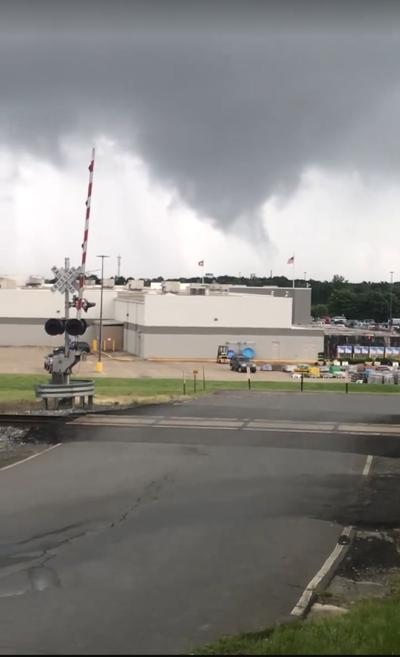 Funnel cloud sighting prompts sirens