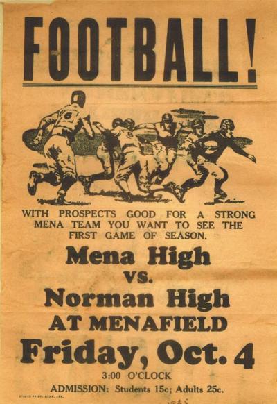 Mena vs. Norman - October 4th, 1935