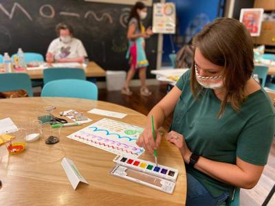 Meridian, Lauderdale County teachers become actors, painters during arts integration workshop