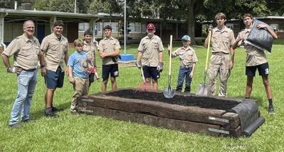 GOOD DEEDS: Eagle Scout builds garden beds at T.J. Harris Lower Elementary