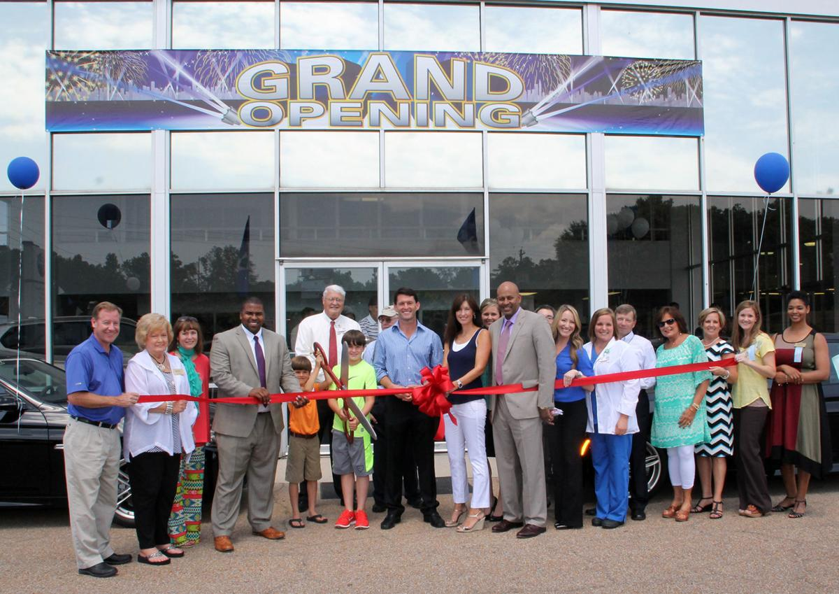 The embdc recently held a ribbon cutting ceremony for bmw of meridian and mazda of meridian