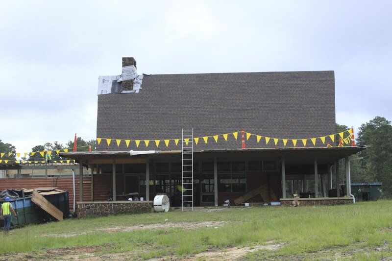 Restoration work continues six months after tornado hits Camp Binachi in Meridian