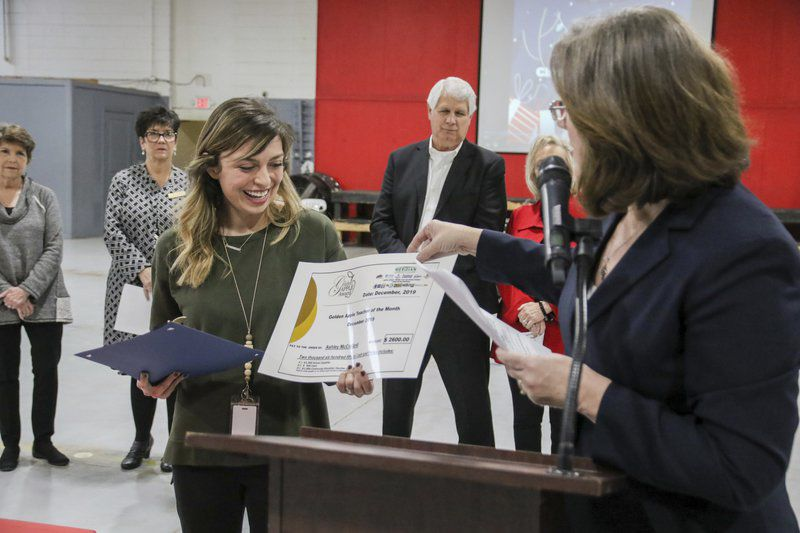 GOLDEN APPLE AWARD: Ashley McClelland shows compassion for her students
