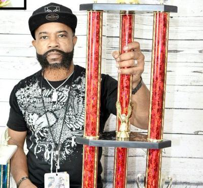 Meridian's Rick Boggan places first in Free Style Hair Art Competition at Mississippi Gulf Coast Barber & Beauty Expo