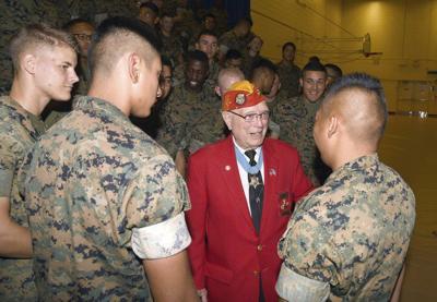 1367e50e9a2ed1 Medal of Honor recipient recalls Iwo Jima for NAS Marines