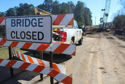 Bridge replacements underway in Lauderdale County