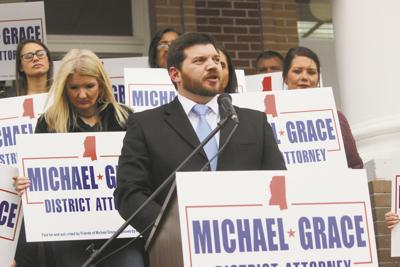 Michael Grace focuses on pre-trial diversion, cost savings in district attorney race