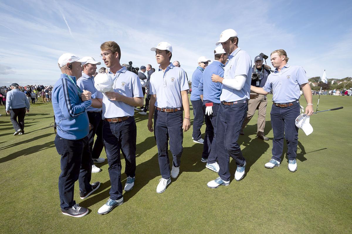 Britain Walker Cup Golf