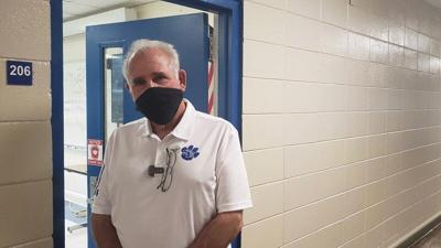 Retired Lauderdale County Superintendent David Little fills in for deployed nephew