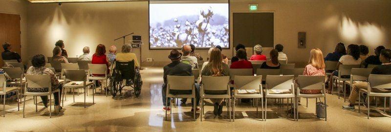 Photojournalist Alysia Burton Steele speaks at The Max in Meridian