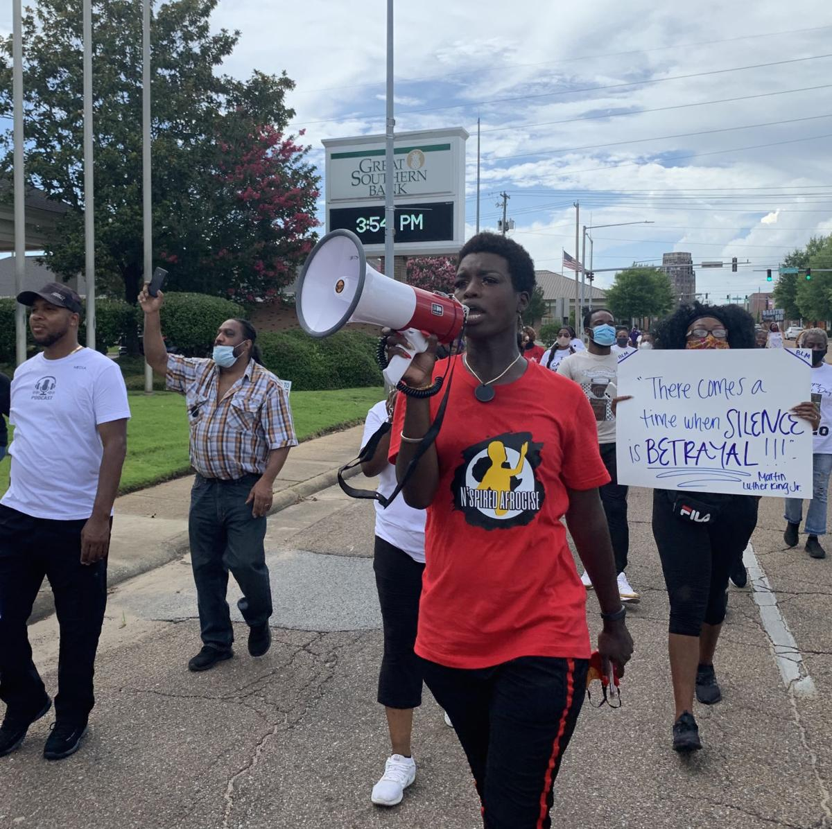 Group seeks monument removal, flag change, arrest investigation in Meridian peace rally