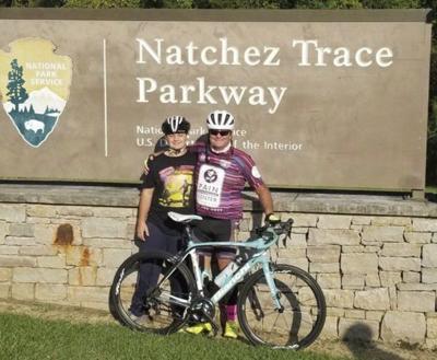 West Lauderdale's Ed Abdella finishes 444-mile bike race on Natchez Trace