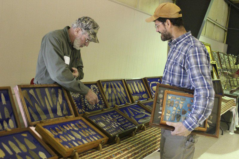 A glance at history ... Indian Artifacts come to Frank Cochran Center Saturday