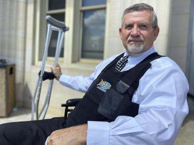 Chancery Court Judge Charles Smith returns to work for first time since March shooting