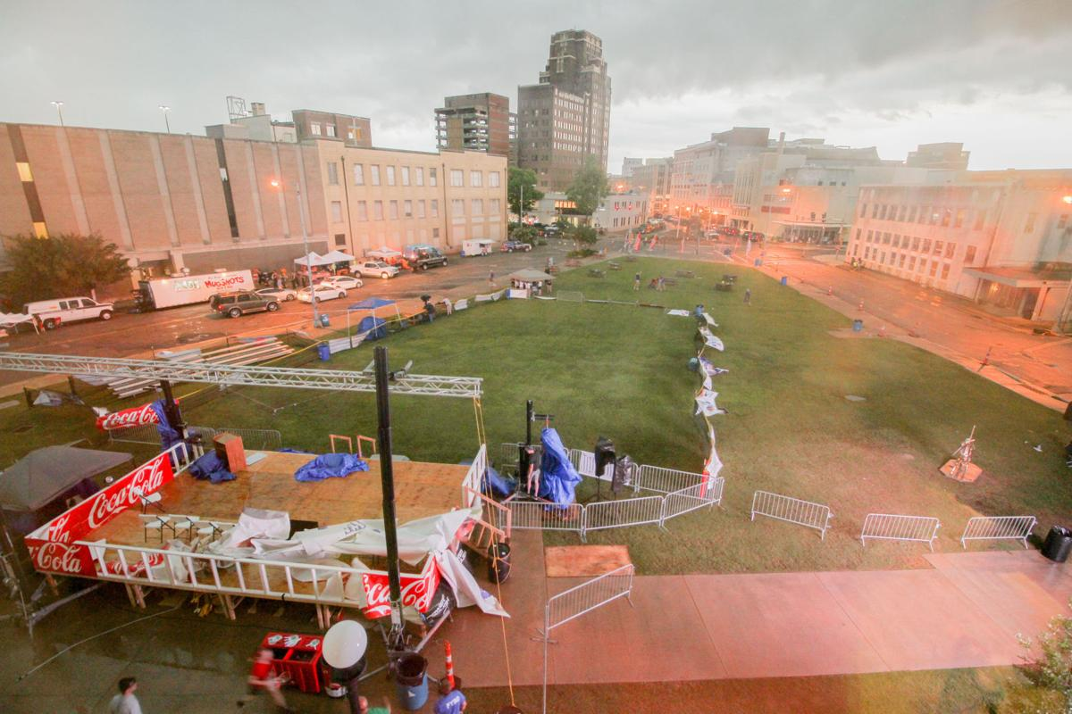 RAINED OUT: Bad weather forces cancellation of State Games opening