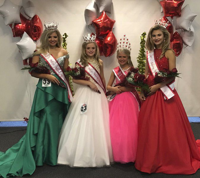 Season for smiles: Miss Merry Meridian Pageant