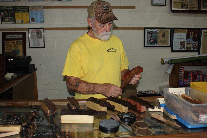 Paul Meek masters art of turkey calling