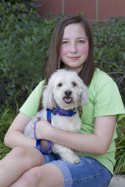 Our Volunteers: Love for animals drives teenager to help