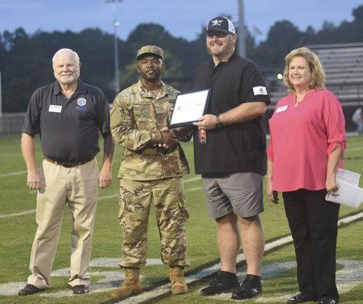 West Lauderdale's Shane Rodgers honored with military award