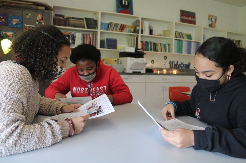 THE TROJAN TIMES: Northeast Middle students have a nose for news