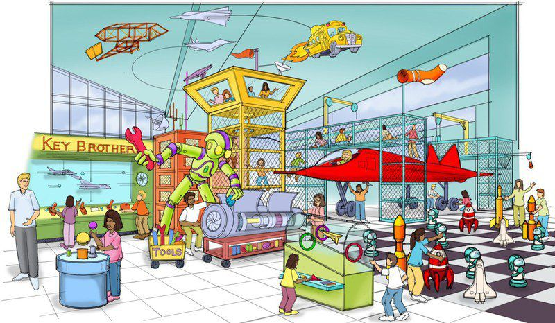 Children's Museum in Meridian preparing site, ideas
