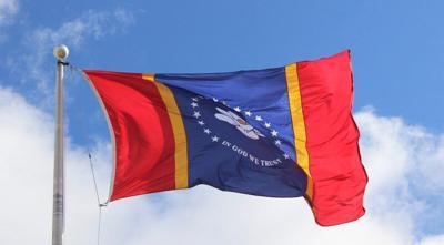 Meridian Community College raises new state flag