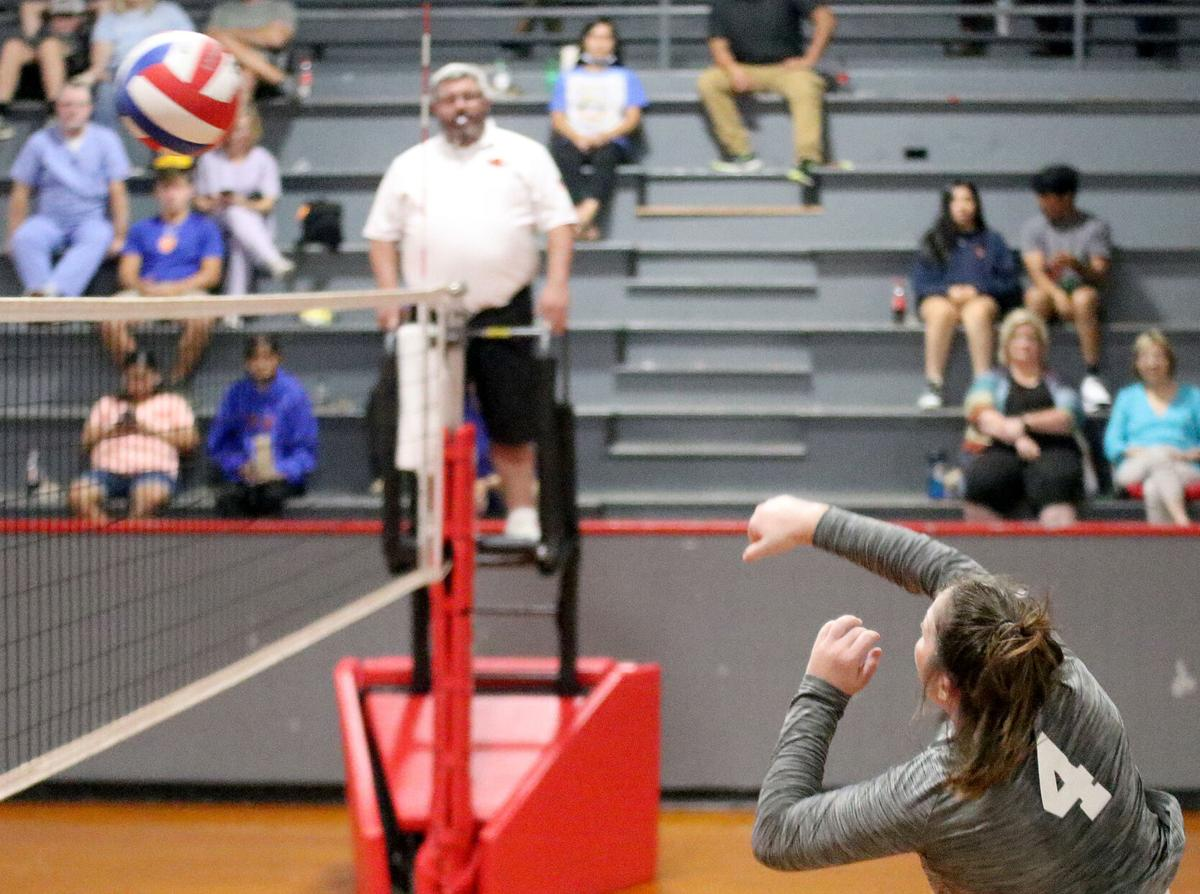 Northeast volleyball Mati Blackwell