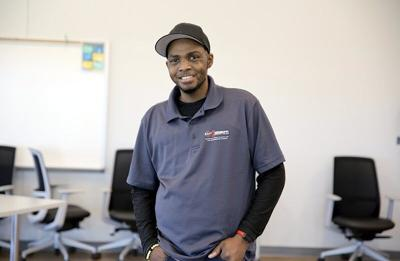 EMCC Adult Education graduate motivated to succeed
